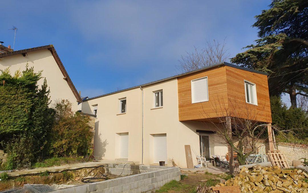 Rénovation maison, ancien corps de ferme, à Herouville St-Clair (Caen)